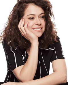 """""""We're all just built so differently. And every single body is beautiful.""""–@TatianaMaslany. Go to ELLE.com to read what the @OrphanBlackTV star has to say to body shamers. #orphanblack"""