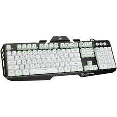 Iogear Kaliber Gaming Hver Aluminum Gaming Keyboard (imperial White)