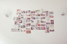 Our dining room photo wall (which has since expanded! Color Pop, Photo Wall, Dining Room, Frame, Photos, Home Decor, Picture Frame, Photograph, Pictures