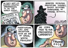 Rob Rogers Editorial Cartoon, August 23, 2016     on GoComics.com
