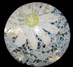 Mosaic Lazy Susan, A Daisy