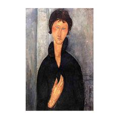 Woman with Blue Eyes, #AmedeoModigliani  #art #artist #painting #inspiration #creative