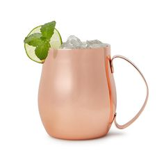 uncommongoods.com  $29.99 Double Wall Moscow Mule Mug 2