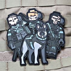 ghosts lego operator moral patch set