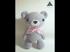 How to crochet a kawaii bear amigurumi tutorial [Part 1/2] - YouTube