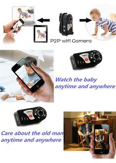 WiFi Camera Mini DV Q7 480P DVR Wireless IP Camera Brand New Hidden Camcorder Spy Video Recorder Camera Infrared Night Vision