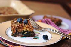 Blueberry Coffee Cake #glutenfree #dairyfree #sugarfree #carascravings