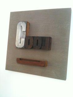tableau personnalis en lettres anciennes d 39 imprimerie a vos lettres pinterest. Black Bedroom Furniture Sets. Home Design Ideas