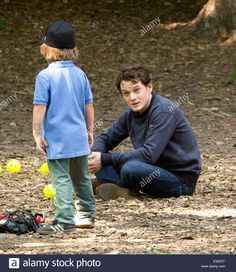 """Anton Yelchin filming """"5 to 7"""" on location in Central Park. Such a sweet boy."""