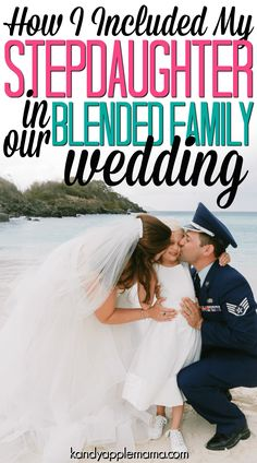 Blended Family Wedding   Stepmom Wedding   Stepkid Wedding   Stepchildren Wedding   Co-Parenting   Stepfamily   Kandy Apple Mama