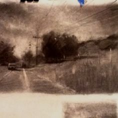 Driving Into Thought by BUA #ART #DRAWING