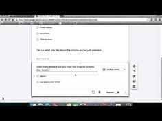 """In this GAfE Guide we explore the """"new"""" Google Forms format and walk you through the step by step process for creating forms.  Enjoy...  Follow us on: Twitter:  https://twitter.com/gafeguides4u Pinterest: https://www.pinterest.com/gafeguides/ Web Site:  https://sites.google.com/site/gafeguides/ Gmail: gafeguides@gmail.com"""