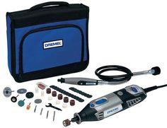 Comprar Kit de herramientas eléctricas en miniatura Dremel 4000 230V Boquilla, 5000 → 35000rpm, 175W, Euroconector