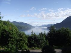 Sechelt Inlet view from the Retreat Sunshine Coast, Peace, Sobriety, World
