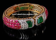 Diamond Bangle, Diamond Jewelry, Gemstone Jewelry, Diamond Dreams, Ruby Bracelet, Touch Of Gold, Bangles, Bracelets, Jewelry Branding