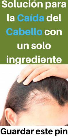 Solución para la Caída del Cabello con un solo ingrediente - salud secrets #saludable #bienestar #solucion #soluciones #cura #cabello #caida #
