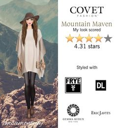 Mountain Maven @covetfashion  #covet #covetfashion #fashion #covetfall2015 #fall2015 #womensfashion #mountainmaven #frye #dl1961 #zynnicashmere #laurenmerkin #ashleypittman #ericjavits