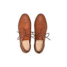 Shoes Thongs Brogue Lace Up Shoe (€20) ❤ liked on Polyvore featuring shoes, oxfords, flats, accessories, flat pumps, laced up flats, oxford lace up shoes, oxford brogues and brogue shoes