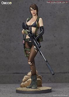 *IN-STOCK* QUIET THE PHANTOM PAIN Metal Gear Solid V 1/6 Scale Statue by GECCO