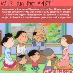 WTF Fun Facts is updated daily with interesting & funny random facts. We post about health, celebs/people, places, animals, history information and much more. New facts all day - every day! Wtf Fun Facts, True Facts, Funny Facts, Random Facts, Fascinating Facts, Interesting Facts, Random Stuff, Japanese Anime Names, Facts You Didnt Know