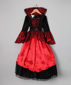 Take a look at this Princess Paradise Princess Vampire Dress - Kids by Happy Hauntings Collection on #zulily today!