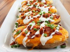 Happy Cooking Recipes: Twice Baked Potatoes