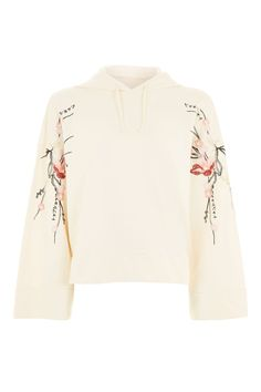 Embroidered Hoodie - New In This Week - New In - Topshop