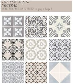The New Age of Neutral - Shop the Quadrostyle Greige Collection of Wall Tile Stickers & Floor Decals Bathtub Tile, Bathroom Floor Tiles, Bathroom Curtains, Bathroom Tile Stickers, Kitchen Wall Tiles, Stairs Kitchen, Small Bathtub, Floor Decal, Stenciled Floor