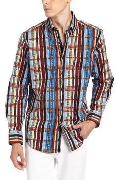 Multi colored Plaid Longsleeve Shirt by Robert Graham. Buy for $228 from Amazon.com