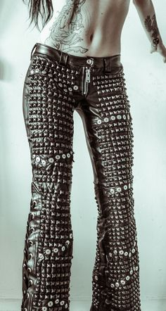 There's no such thing as too many studs.. New Toxic Vision.