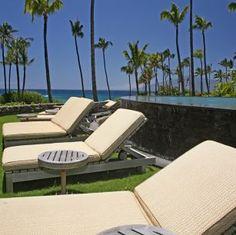 Lounge in Luxury Montage at Kapalua Bay Maui Maui, Hawaii, Kapalua Bay, Destinations, Outdoor Furniture, Outdoor Decor, Sun Lounger, Villa, Vacation