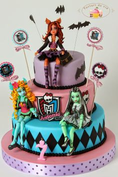 Monster High pentru Antonia