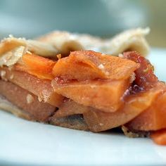 Fuyu Persimmon Pie