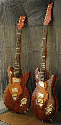Les jumelles de chez Linguist Guitars. Retrouvez des cours de guitare d'un nouveau genre sur MyMusicTeacher.fr