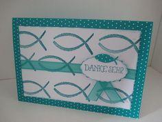 Dankeskarten - Danksagung Konfirmation / Kommunion /Taufe - ein Designerstück von KreaKer bei DaWanda
