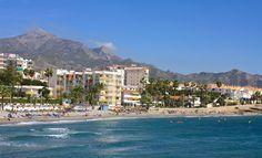 Playa Torrecilla, Nerja, Spain Nerja Spain, Cosy, Beaches, Dolores Park, Travel, Viajes, Traveling, Trips, Tourism