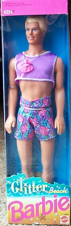 really this is what a little girl thinks a man is supposed to dress like @ the beach