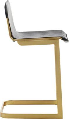"rake brass 30"""" bar stool"