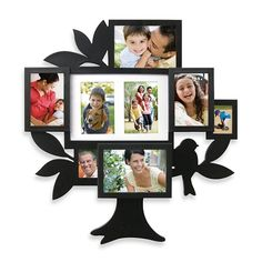 This family tree collage frame is perfect for displaying all your beloved family member& photos. With 8 picture openings, now you can display your grandparents and your children& photos. A great way of presenting a few generations of family. Family Tree Picture Frames, Family Tree With Pictures, Family Tree Photo, Family Photo Collages, Family Tree Chart, Hanging Picture Frames, Collage Foto, Tree Collage, Wall Collage