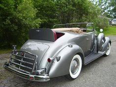 1936 Packard 120B.