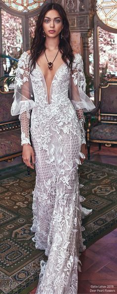 Galia Lahav SS 2018 Wedding Dresses – Victorian Affinity | Deer Pearl Flowers / http://www.deerpearlflowers.com/galia-lahav-ss-2018-wedding-dresses/