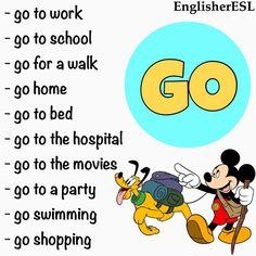 Collocations: Go
