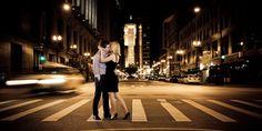 City Engagement Photo-shoot