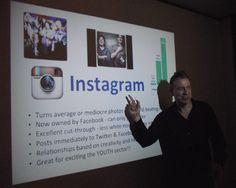 "Yours truly delivering a workshop ""fast track instagram for business"" #socialmedia #sydney #socialmediaforbusiness #instagram"
