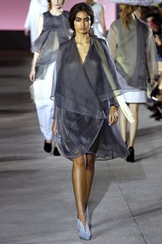 Kelly Gale walking John Galliano Spring '13 RTW #runway #fashion