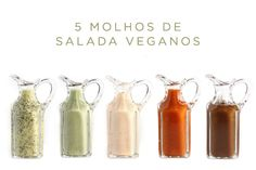 5 receitas de molho de salada vegano                                                                                                                                                      Mais