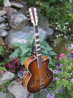 1950s Hofner archtop guitar