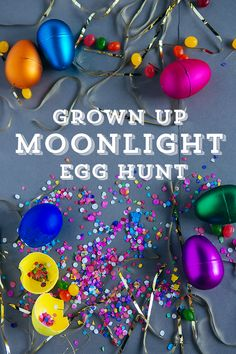 Handmade Mood | Grown Up Moonlight Easter Egg Hunt | http://handmademood.com