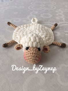 Crochet Kitchen, Crochet Home, Crochet Crafts, Yarn Crafts, Crochet Baby, Crochet Projects, Amigurumi Patterns, Amigurumi Doll, Baby Knitting