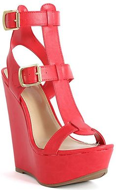 Strappy Open Toe Gladiator Emperor Cage Wedges